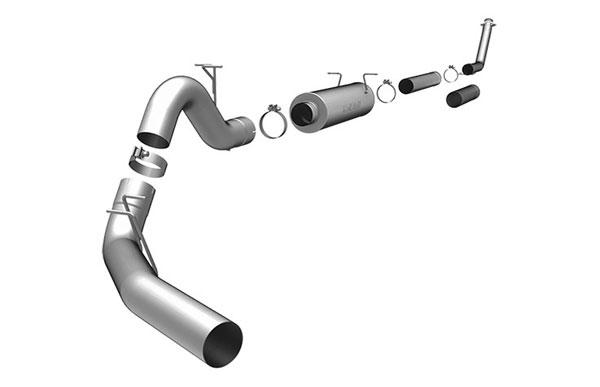 Magnaflow 17924 |  Exhaust System for DODGE CUMMINGS DIESEL 4 IN. CLUB CAB; 1998-2002