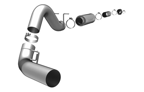 Magnaflow 17949 |  Exhaust System for FORD 6.0L POWERSTROKE DIESEL, 5in. SYSTEM 2003-2007