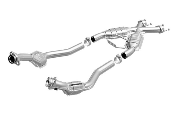 Magnaflow 93333:  94-95 Mustang 5.0L, GT, Cobra Tru-X Pipe with out Cats V8