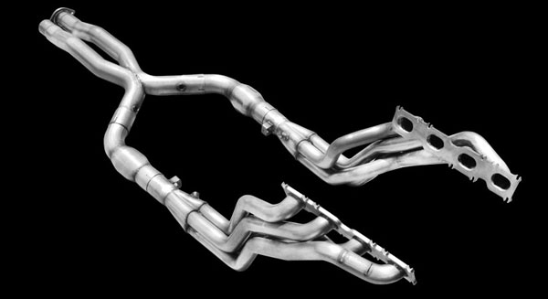 American Racing Headers MB78WC: ARH Mercedes 2007-2009 E63 / CLS63 Long Tube Headers 1-7/8'' Headers - 3'' X-Pipe W/Cats for stock exhaust