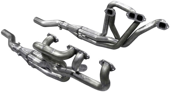American Racing Headers MBB-67200312SS:  MOPAR B/E BODY BIG BLOCK 1967-1974 2in x 3-1/2in SHORT SYSTEM, 2in X 3-1/2in Header, 3-1/2in x 3in Connection Pipes