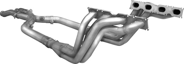 American Racing Headers MBCLK-06178300LSWC |  Mercedes Benz CLK63/Black Series 1-7/8in x 3in Header Pair, 3in X-Pipe With Cats; 2007-2009