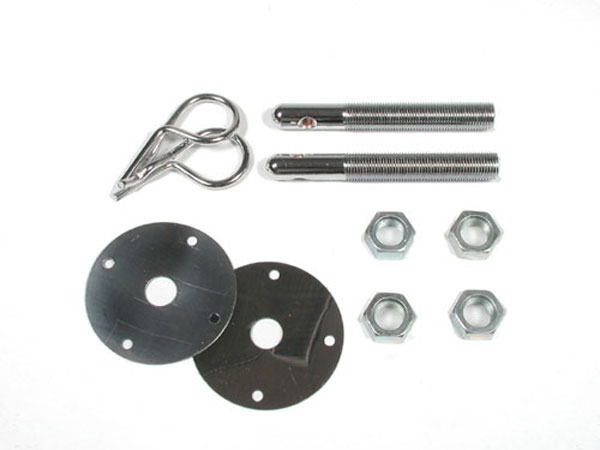 LMPerformance MG9655 |  Hood Pin Kit - 1/2inch Safety Pin; 2010-2013