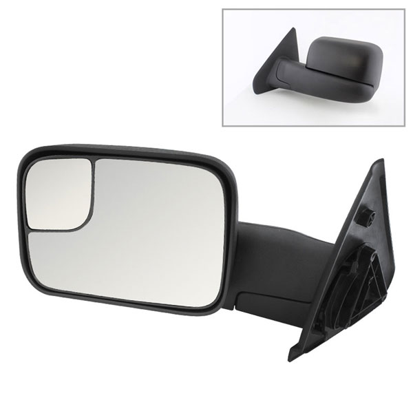 xTune MIR-DRAM02-MA-L:  Dodge Ram 02-09 Manual Extendable - MANUAL Adjust Mirror - LEFT