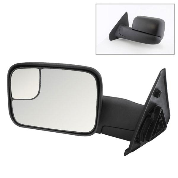 xTune MIR-DRAM02-MA-L | Dodge Ram Manual Extendable - MANUAL Adjust Mirror - LEFT; 2002-2009
