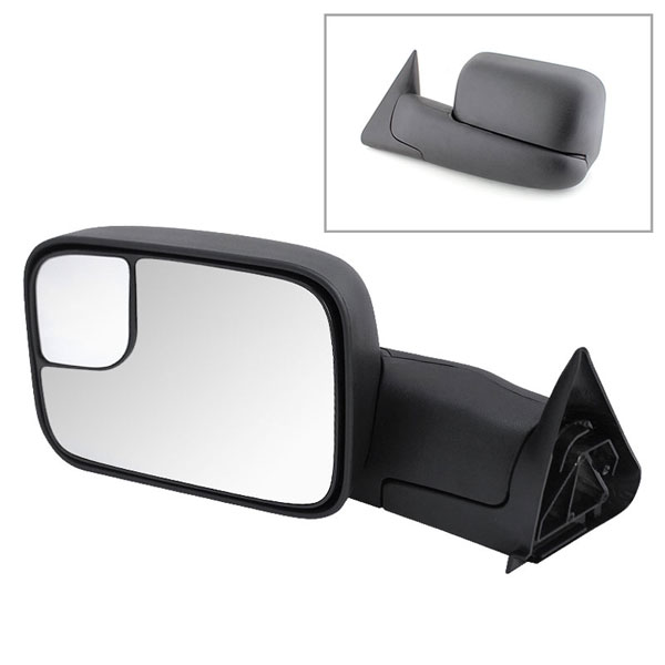 xTune MIR-DRAM94-MA-L:  Dodge Ram 94-01 Manual Extendable - MANUAL Adjust Mirror - LEFT