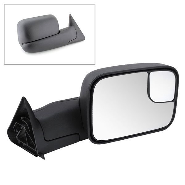 xTune MIR-DRAM94-MA-R:  Dodge Ram 94-01 Manual Extendable - MANUAL Adjust Mirror - RIGHT