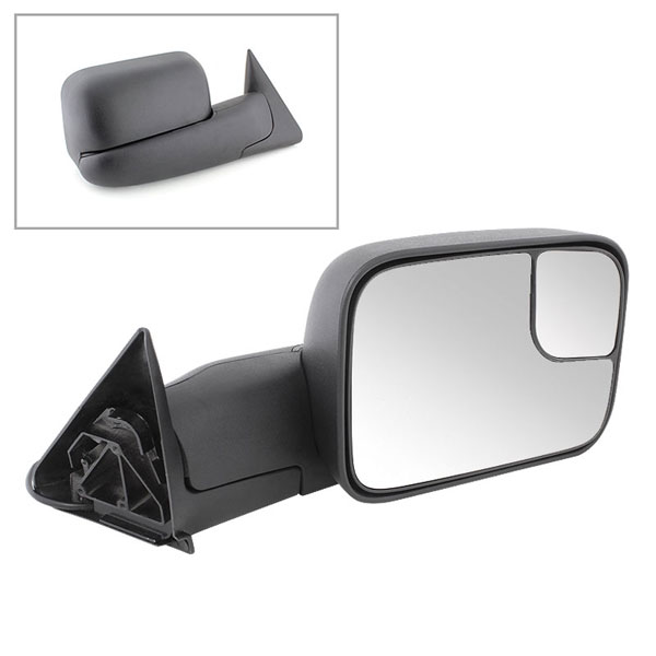 xTune MIR-DRAM94-PW-R:  Dodge Ram 94-01 Manual Extendable - POWER Heated Adjust Mirror - RIGHT