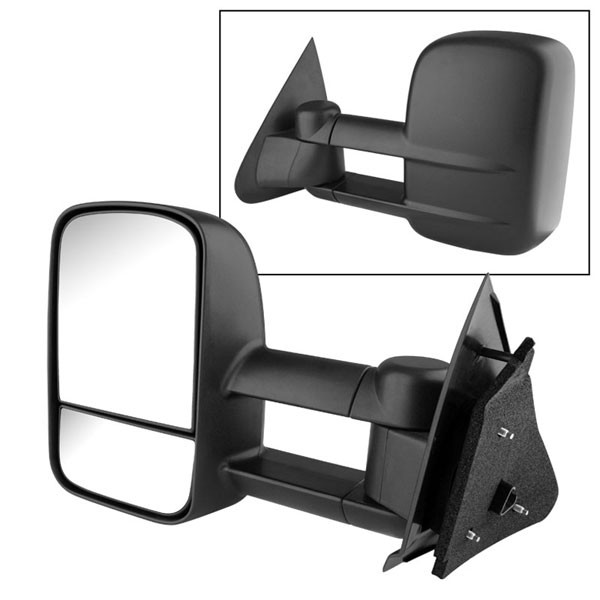 xTune MIR-FF15097-PW-L:  Ford F150/250 97-03 Manual Extendable - POWER Heated Adjust Mirror - LEFT