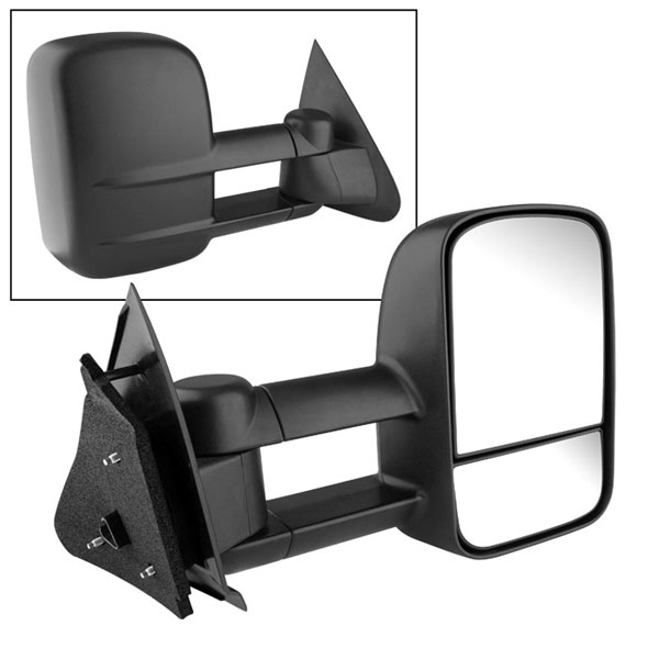 xTune MIR-FF15097-PW-R:  Ford F150/250 97-03 Manual Extendable - POWER Heated Adjust Mirror- RIGHT