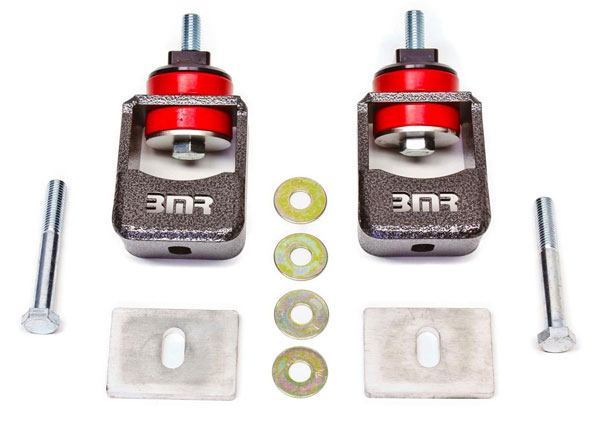 BMR Suspension MM004: BMR Camaro 2010-15 Motor Mount Kit with Polyurethane Bushings