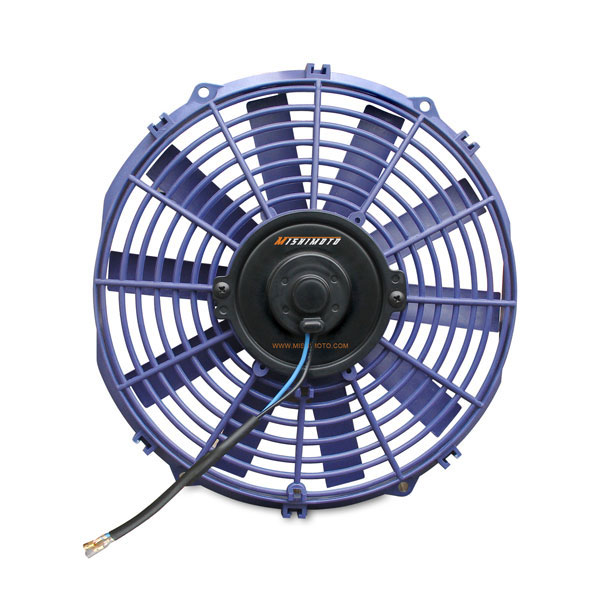 Mishimoto MMFAN-12B:  Slim Electric Fan 12'' - Blue