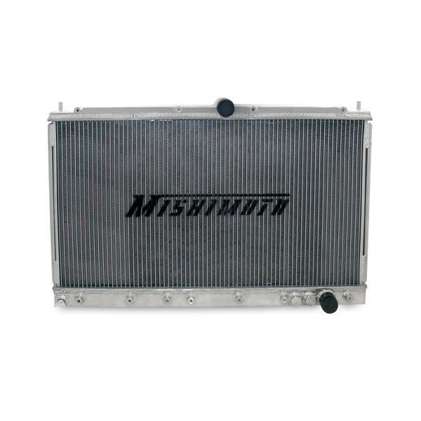 Mishimoto MMRAD-3KGT-91:  Dodge Stealth 91-96 Turbo and Non Turbo Manual Transmission Aluminum Radiator