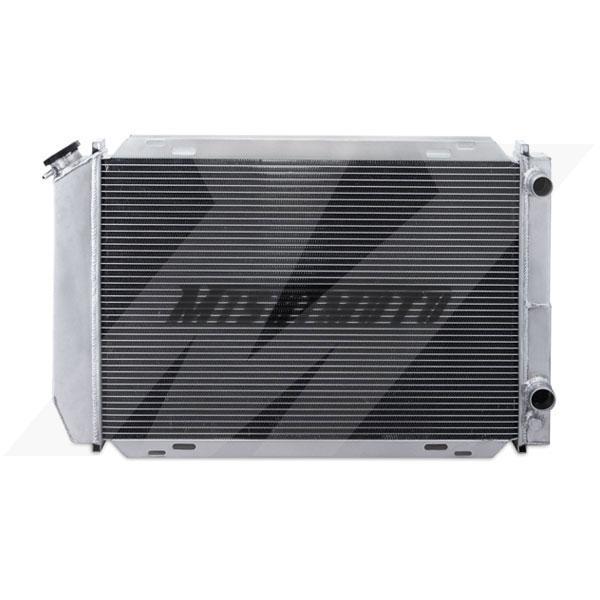 Mishimoto MMRAD-MUS-79DP | Ford Mustang Dual Pass Racing Radiator Manual Transmission Aluminum Radiator; 1979-1993