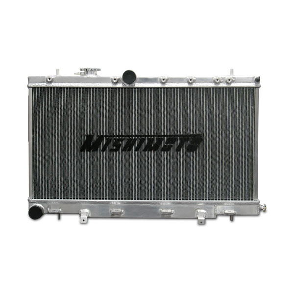 Mishimoto MMRAD-WRX-01 | Subaru WRX and STI Manual Transmission Aluminum Radiator; 2001-2007