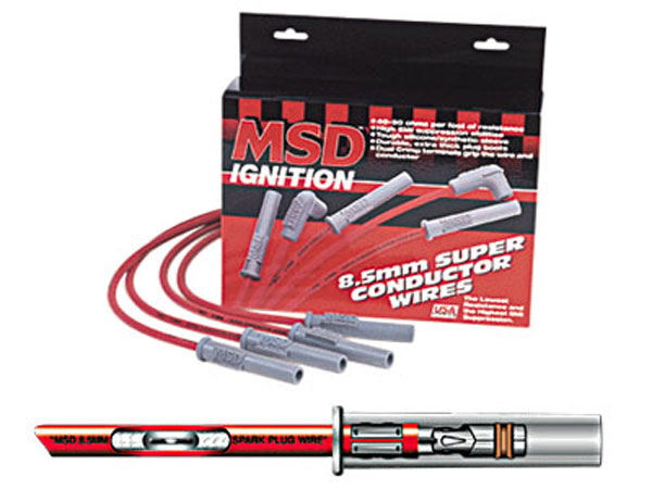 MSD 32819 | Superconductor 8.5mm Plug Wires for LS1 Camaro V8; 1998-2002