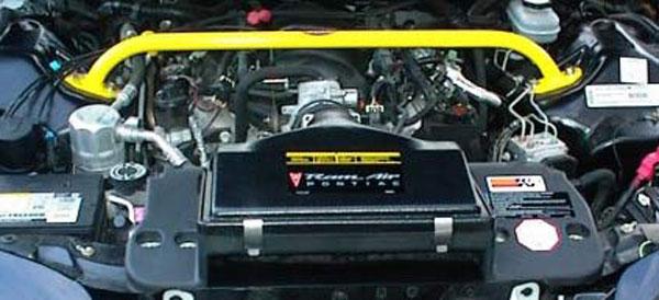 BMR Suspension MSTB002 | BMR Chrome moly shock tower brace, V6 all. SS Camaro V8 / V6; 1993-2002