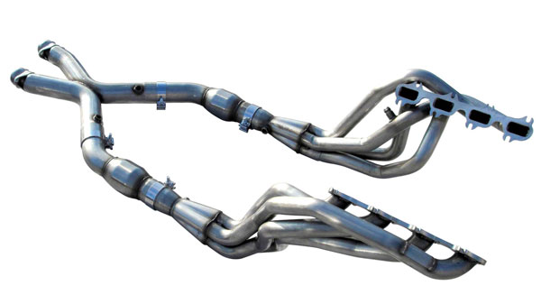 American Racing Headers MT4-99178300LSNC | Mustang 4V Cobra Long System No Cats: 1-7/8in x 3in Header, 3in X-Pipe, Connection Pipe No Cats; 1999-2004