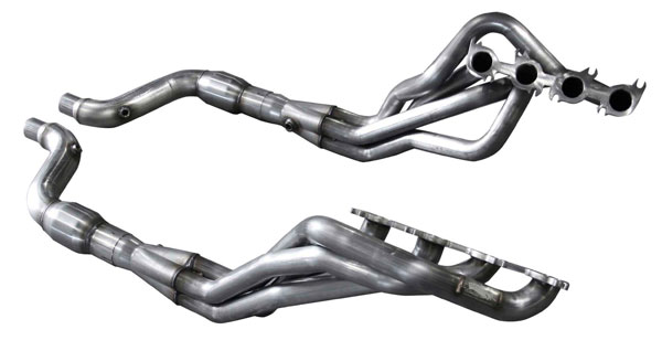 American Racing Headers MTC5-15134300DCWC: MUSTANG 5.0L/COYOTE 2015-2017 DIRECT CONNECTION Header 1-3/4in x 3in, 2-1/4 CONNECTION PIPE WITH CATS (Direct Fit for Aftermarket / Stock Catback Systems)