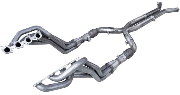 American Racing Headers MTC5-15134300LSWC:  MUSTANG 5.0L/COYOTE 2015-2017 FULL SYSTEM BOTTLE NECK ELIMINATOR , Header 1-7/8in x 3in, 3in x 3in XPipe NCats,