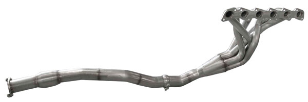 American Racing Headers NIS-02134300LSWC |  Nissan Patrol 4.8 Inline 6 2002&up Long System With Cats, 1-3/4in x 3in HEADER PAIR, CONNECTION PIPES WITH CATS