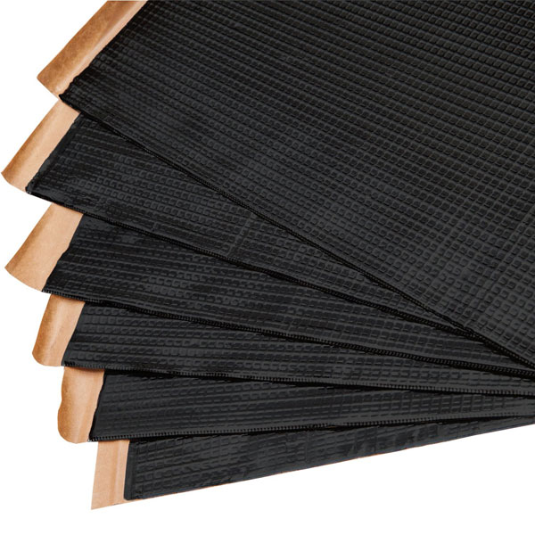 Noico NOICOBMB3:  Black 80 Mil X 36 Sq Ft Self-adhesive Sound Deadener Automotive Insulation