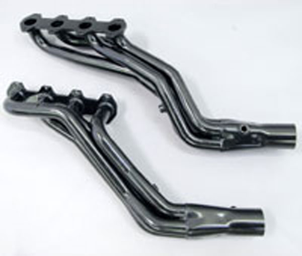 Pacesetter 702229:  1-3/4x3 Longtube Headers - F-150 5.4L 2004-10 - Black Painted