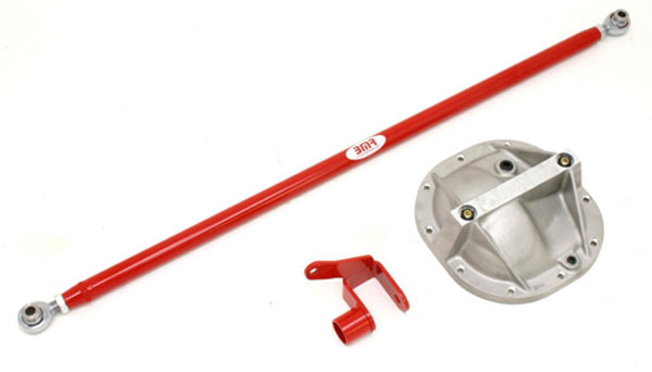 BMR Suspension PHR009K: BMR Panhard Relocation Kit 2005-11 Mustang V6