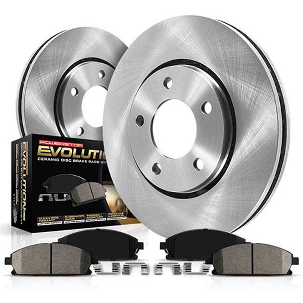 PowerStop koe5575 | Power Stop 10-11 Ford F-250 Super Duty Front & Rear Autospecialty Brake Kit; 2010-2011
