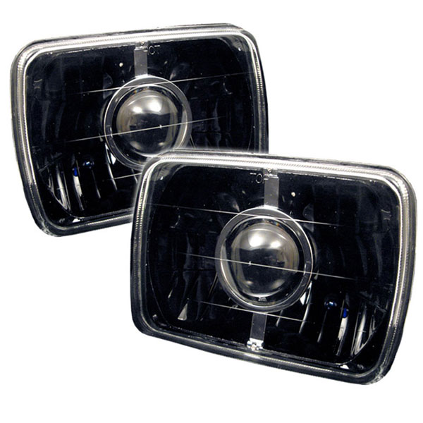 xTune PRO-CL-7X6-BK:  projector Headlights 7x6 - Black