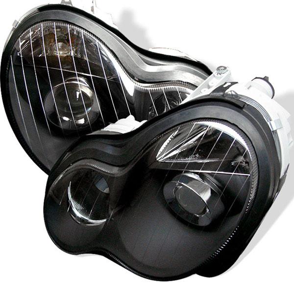 xTune PRO-CL-MW20301-BK |  Mercedes Benz C Class W203 Projector - Black; 2001-2005