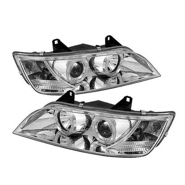 Spyder PRO-YD-BMWZ396-HL-C:  BMW Z3 96-02 Halo Projector Headlights - Chrome