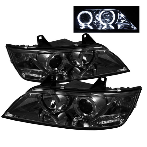 Spyder 5009104:  BMW Z3 96-02 Halo Projector Headlights - Smoke  - (PRO-YD-BMWZ396-HL-SM)