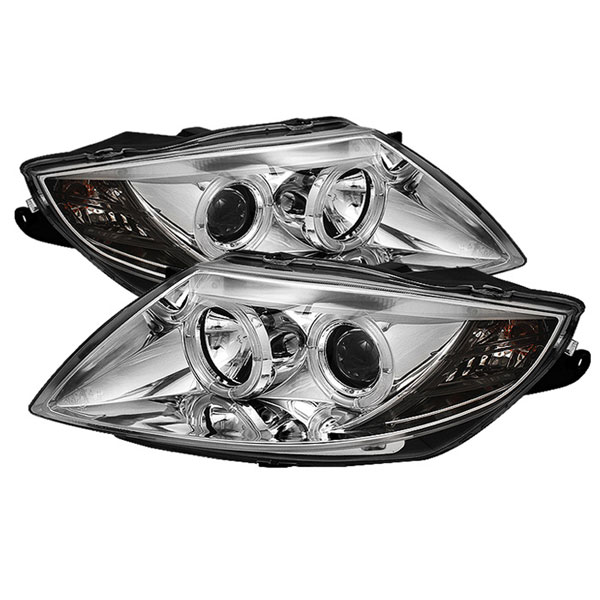 Spyder PRO-YD-BMWZ403-HL-C:  BMW Z4 03-08 ( Non HID Type ) Halo Projector Headlights - Chrome