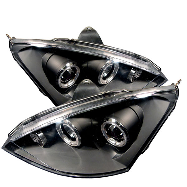 Spyder PRO-YD-FF00-HL-BK:  Ford Focus 00-04 Halo Projector Headlights - Black