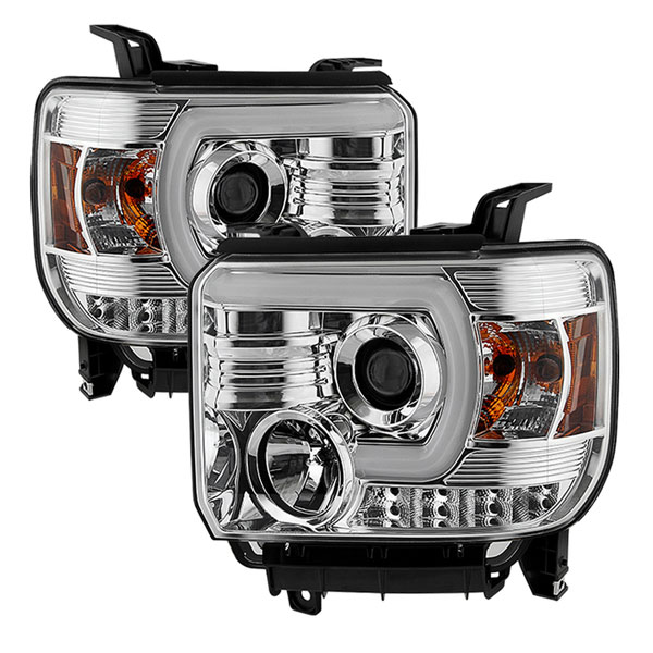 spyder 5080622 gmc sierra 1500 projector headlights. Black Bedroom Furniture Sets. Home Design Ideas