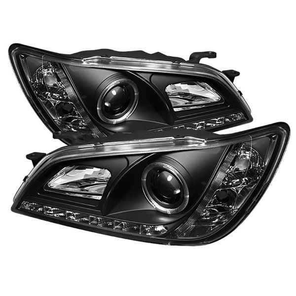 Spyder (5029898)  Lexus IS300 01-05 ( HID Type ) DRL LED Projector Headlights - Black  - (PRO-YD-LIS01-HID-DRL-BK)