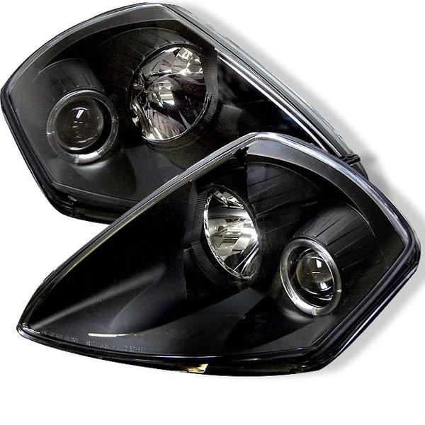 Spyder 5011374 |  Mitsubishi Eclipse Halo Projector Headlights - Black - (PRO-YD-ME00-HL-BK); 2000-2005