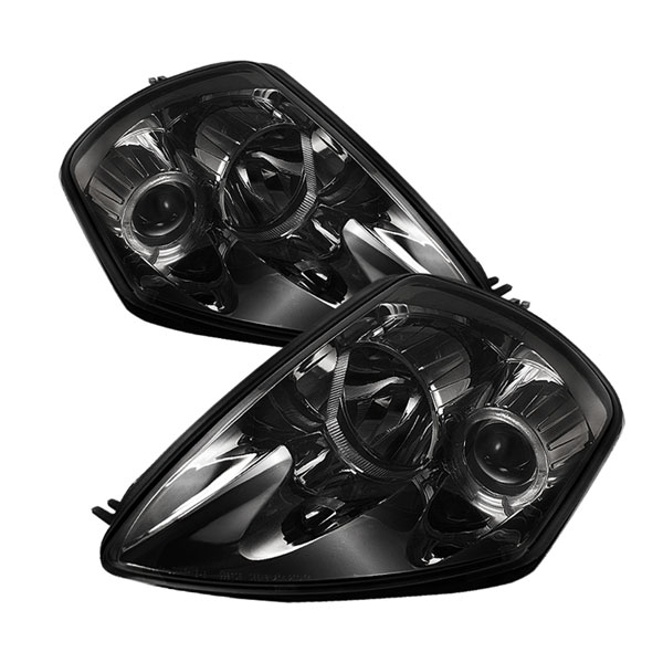 Spyder (5011398)  Mitsubishi Eclipse 00-05 Halo Projector Headlights - Smoke  - (PRO-YD-ME00-HL-SMC)