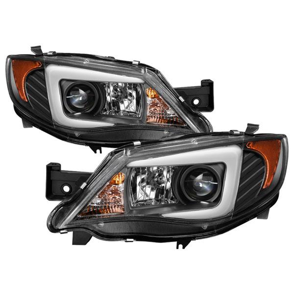 Spyder 5083937 Subaru Impreza Wrx Projector Headlights Xenon Hid Model Only Light Bar Drl