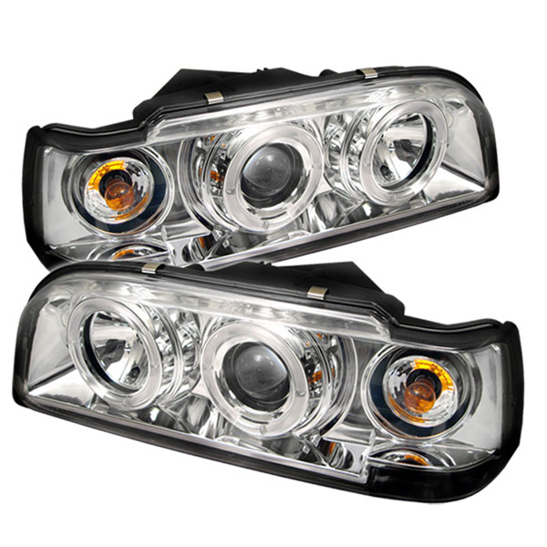 Spyder PRO-YD-VO85092-HL-C:  Volvo 850 93-97 Halo Projector Headlights - Chrome