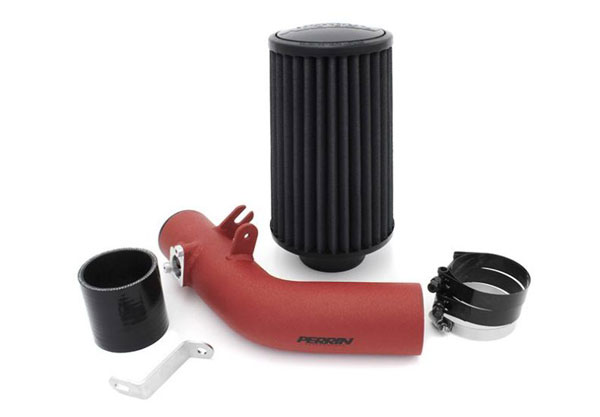 Perrin Performance PSP-INT-322RD | Subaru WRX Cold Air Intake in Red; 2008-2014