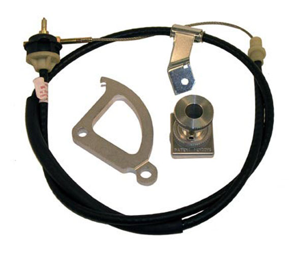 RAM Clutches 565 | RAM Deluxe Cable Kit with Firewall Adjuster Mustang V8; 1986-2004