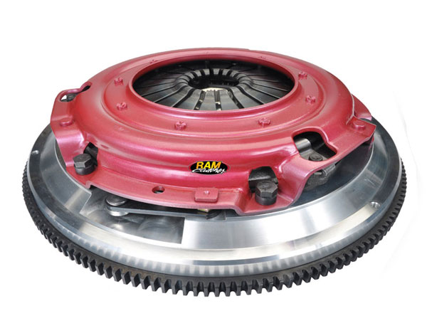 RAM Clutches (75-2245N) RAM Street Dual Clutch Kit Mustang 5.0L 1986-95 1 1/8-26 Spine Force 9.5 900 Series Disk