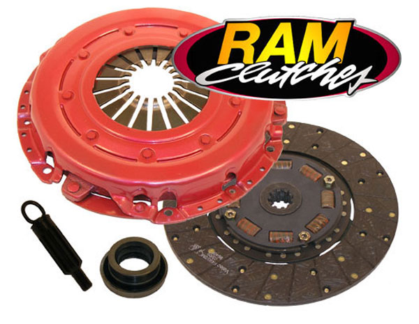 RAM Clutches 88794HD: RAM HDX Clutch Kit 1986-00 Mustang 4.6L, 5.0L