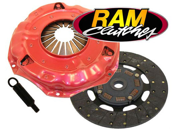 RAM Clutches 88931HDX: RAM HDX Clutch Kit 1997-04 Corvette C5