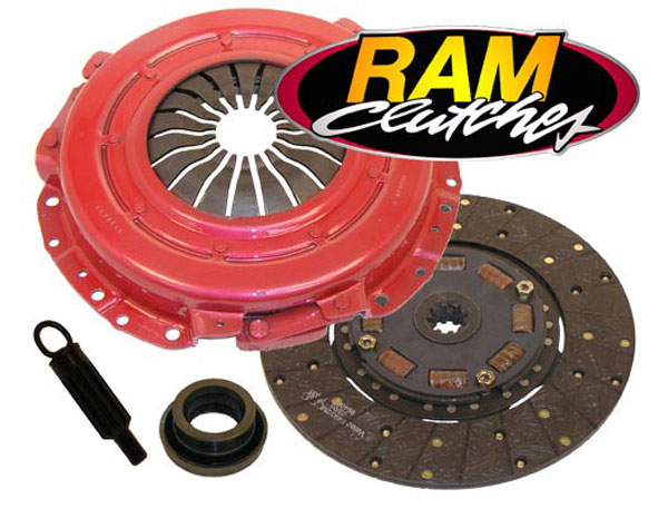 RAM Clutches 88951HDX: RAM HDX Clutch Kit 2001-04 Mustang 4.6L (10 Spline) V8