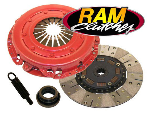 RAM Clutches (98794HD) RAM Powergrip HD Clutch Kit 1986-00 Mustang 4.6L, 5.0L