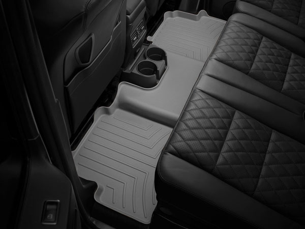 WeatherTech 463742 |  Rear FloorLiner Audi A7 - Grey (2-piece part); 2012-2014