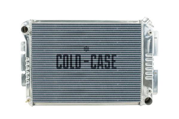 Cold-Case Radiators CHC11A |  Camaro Aluminum High Performance Radiator Tri Flow, 1967-69 Big Block AT